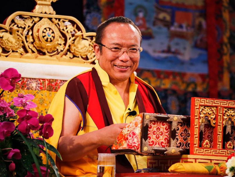Transmisión de Mahamudra por Tai Situ Rinpoché, 2018, Delhi, India