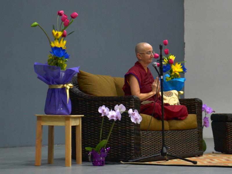 Vivir tu compromiso con la no violencia desde la perspectiva budista