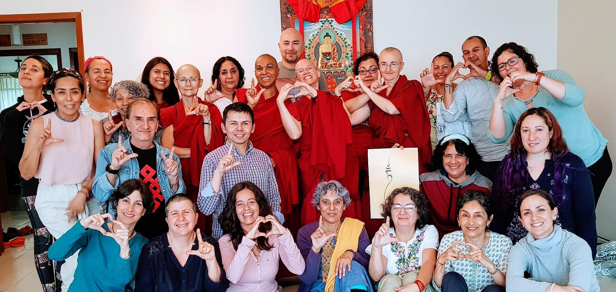 SER PARTE DE LA COMUNIDAD INSTITUTO BUDADHARMA